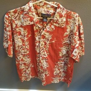 Large Patsgonia Pataloha Hawaiian button up shirt